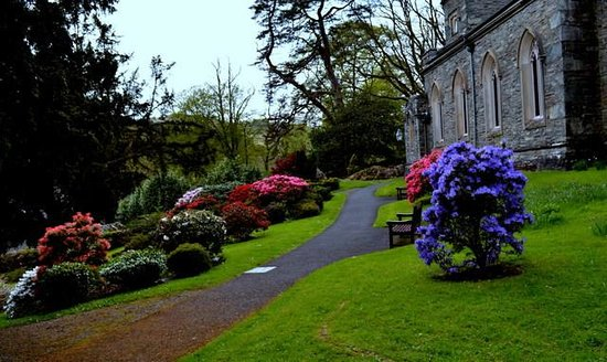Part of Rydal Church grounds near Dora's Field