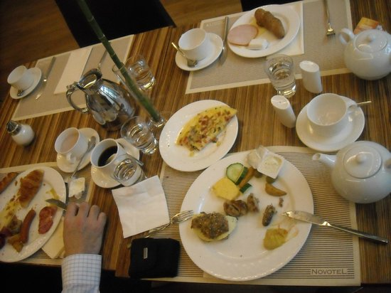 Novotel Munich City: Breakfast