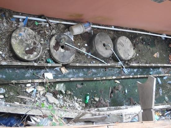 พุทธโชติ รีสอร์ท: vue du balcon