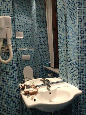 Hotel Alpi Resort : IL BAGNO DELLA CAMERA 102