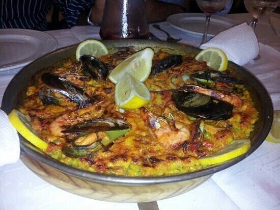 Paella fotograf a de restaurante el puerto tarifa tripadvisor - Restaurante el puerto tarifa ...