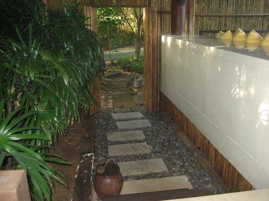 Six Senses Samui: Entrance Our Villa