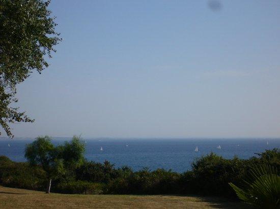 VVF Villages Belle-Ile-en-Mer: vue du gîte sur la mer
