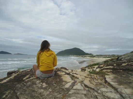 Praia do Santinho: Quer vista mais linda do que essa?
