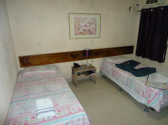 Delphia Hotel Praia de Iracema: Quarto duplo do Delphia Praia de Iracema