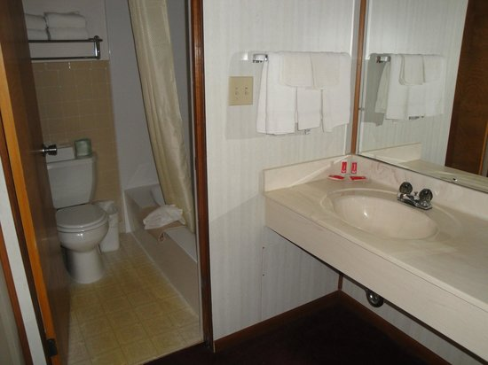 Econo Lodge Wall : bagno