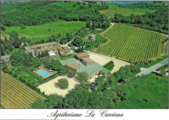 Agriturismo La Crociona: Hospedagem acolhedora - Foto do cartão postal da pousada