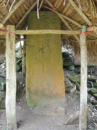 Nim Li Punit (Big Hat): Beautiful preserved and protected ancient Mayan artifact