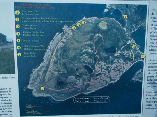 Map of the historic site picture of port au choix national port au choix national historic site of canada map of the historic site gumiabroncs Images