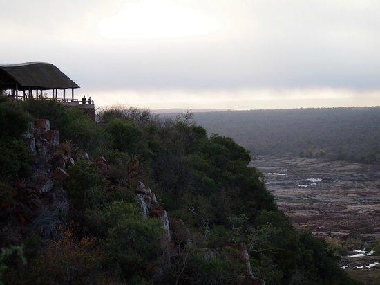 Olifants Rest Camp : vista sul fiume