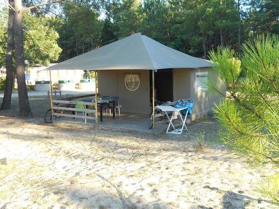 Camping Sandaya Soustons Village: Tente Lodge 4pers
