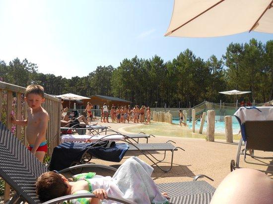 Fram Nature: vu à la piscine