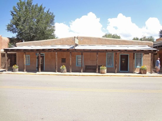 Kit Carson Home & Museum: Kit Carson Home and Museum. Taos, New Mexico. His home for 25 years from 1842.