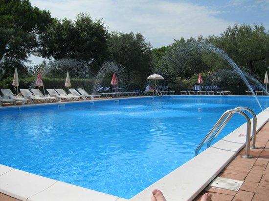 Villa Ferretti : The pool