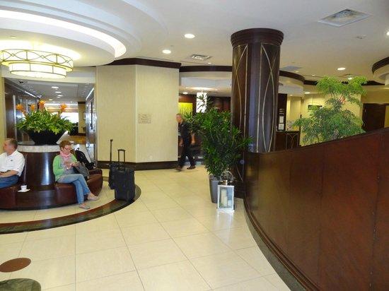 Hilton Garden Inn Toronto Airport: good first impression