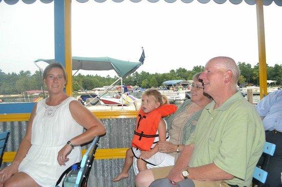 Point Sebago: Boat cruise