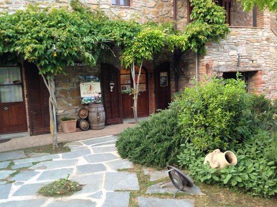 Le Terre di Isa: gepflegter Garten