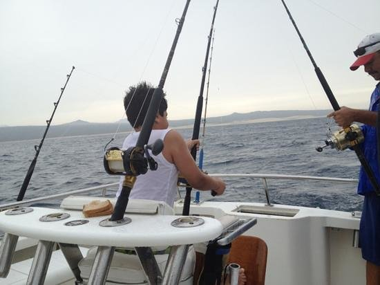 My son fishing picture of minerva 39 s baja tackle cabo for My fishing advisor