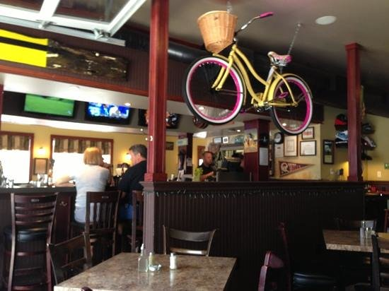 South Coast Cookhouse: this bike is a prize to be won on Labour day weekend