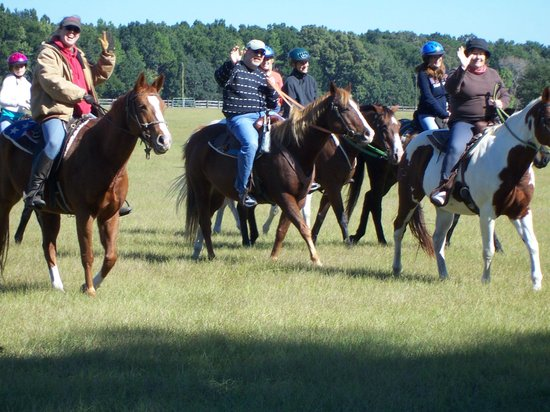 Rock Springs Run Trail Rides: Riding is fun and affordable