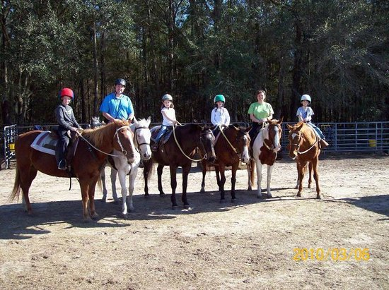Rock Springs Run Trail Rides: Great family activity