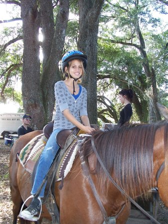 Rock Springs Run Trail Rides: Kids love to ride (6 years old and up)