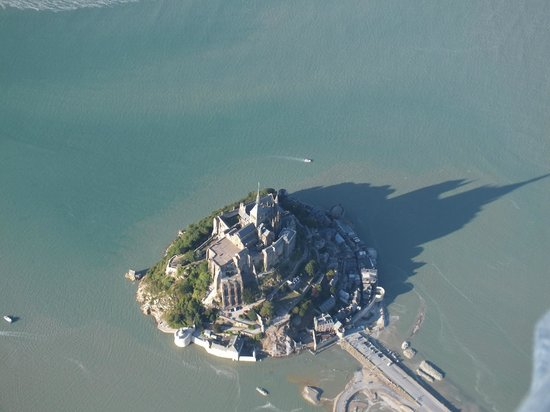 Bapteme ULM: Vue ULM - Mont Saint-Michel