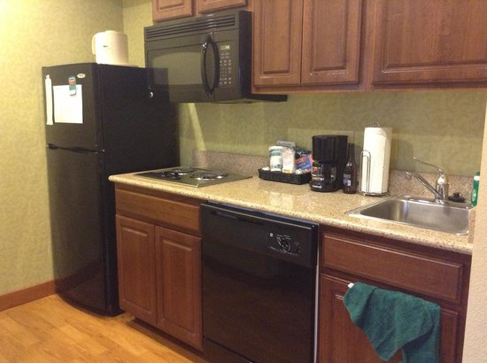 Homewood Suites by Hilton Dover: full kitchen in suite
