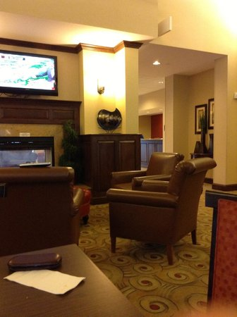 Homewood Suites by Hilton Dover: looking over to sitting area in breakfast area