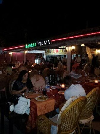Madras Indian Restaurant: Another busy night at the Madras