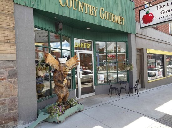 The Country Gourmet Cafe and Gallery: entrance