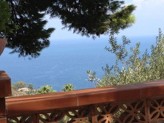 Grand Hotel Miramare: view from pool bar