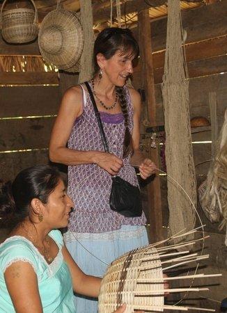 Living Maya Experience: Cheryl and Marta Chiac