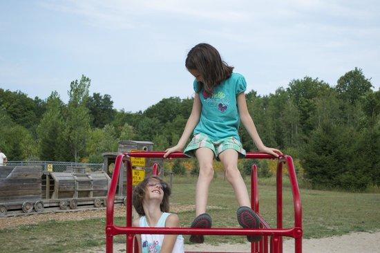 Traverse City KOA: Playground