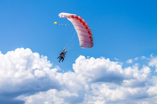 Corse Parachutisme Tandem : have fun