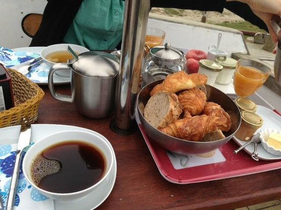 La Grange Bretagne : Un bon petit-dejeuner!