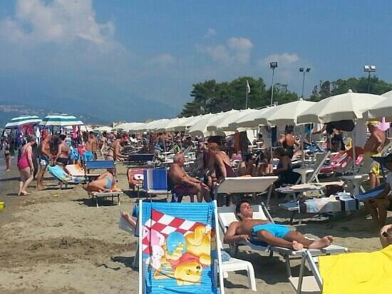 Ascea, Italien: spiaggia