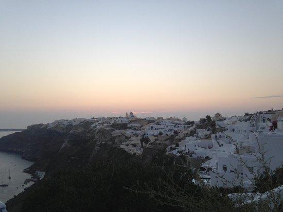 Ikies - Traditional Houses: Ikies's sunset