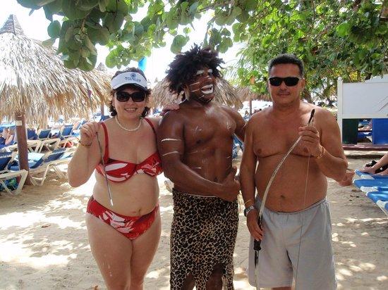 Grand Bahia Principe El Portillo: With Daniel