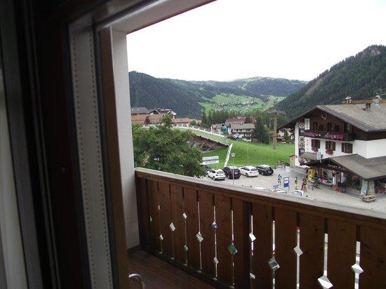 Hotel Sport: dal balcone
