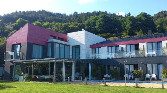 Hotel Arbe : El hotel desde el Jardín