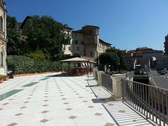 Hotel Iris : terrasse2