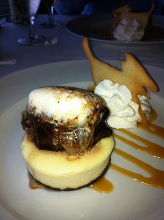 Yellow Dog Cafe: S'more Cheesecake