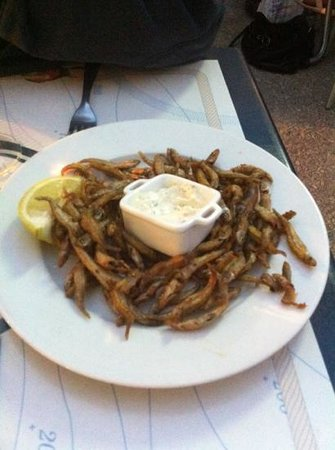 Le Banchera: friture d'eperlans