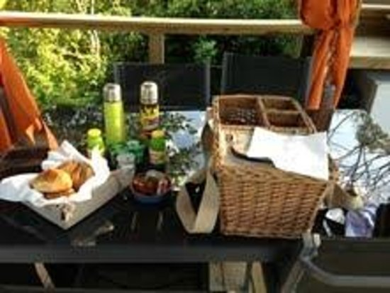 Timazen : Panier petit déjeuner
