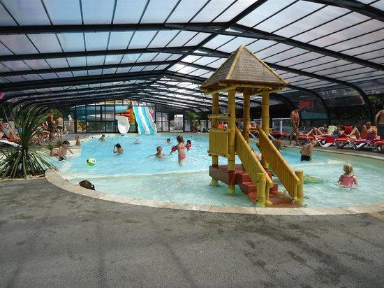 La piscine photo de camping le petit rocher longeville for Piscine mimizan