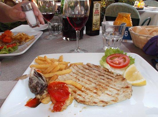 Piccolo Hotel: food