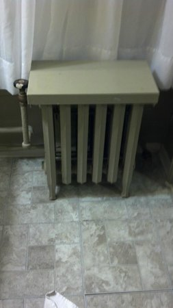 Days Inn Rochester Downtown: The antique radiator
