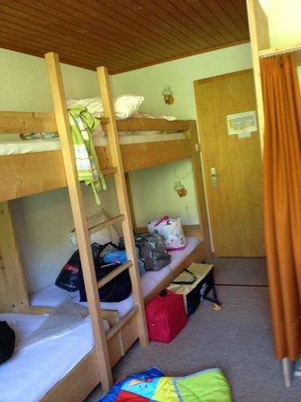 Hotel-Gasthof Rothorn: les 4 lits superposés pour une famille