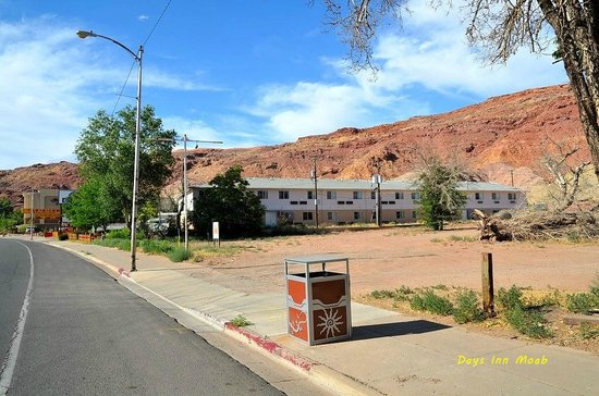 Days Inn Moab: Le Days Inn, au nord de Moab